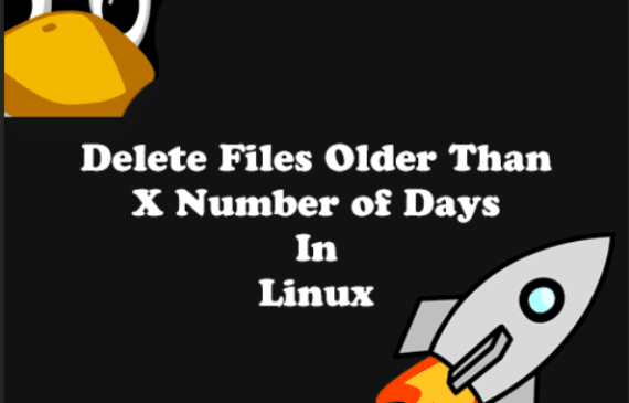 How to delete files older than x number of days in linux
