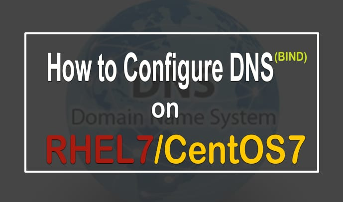 How to Configure BIND On Linux RHEL/CentOS 7