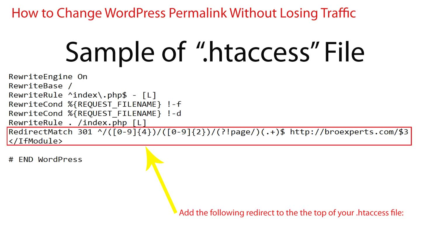 add-301-redirects-in-htaccess-file