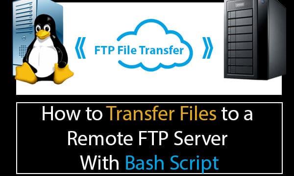 Bash Script FTP Upload