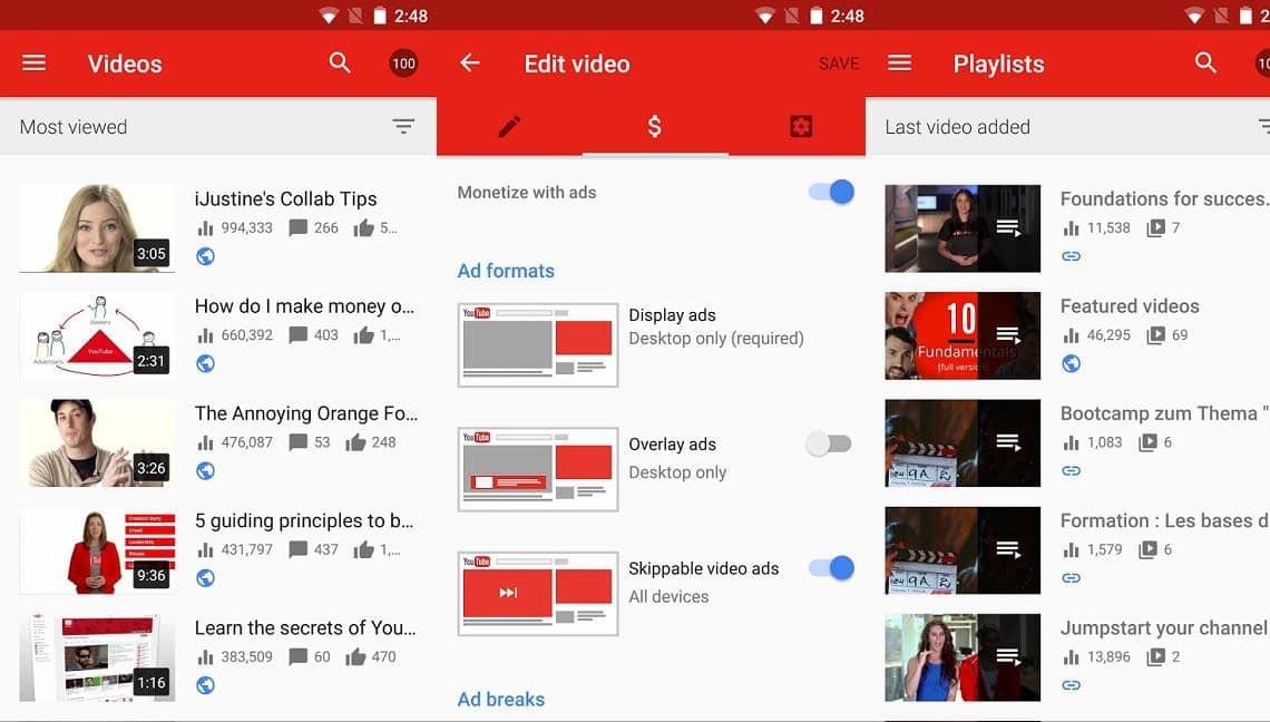 Youtube-Studio-app-for-smartphone