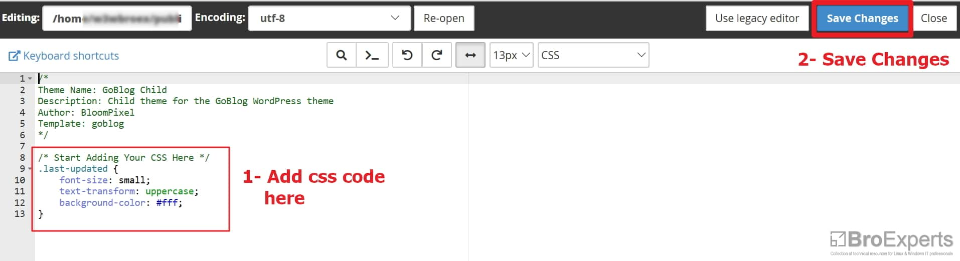 Display Last Updated Date of WordPress Post