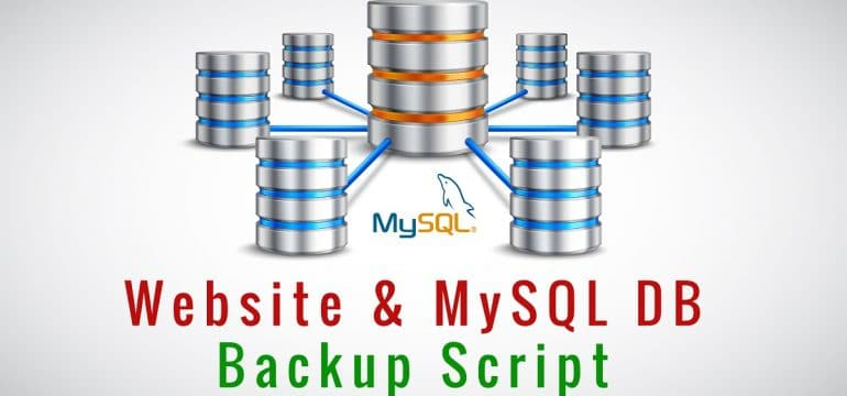 Website & MySQL Backup Script