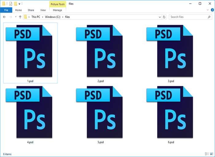 PSD-File-Preview